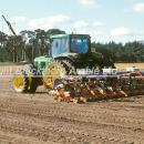 Drilling sugar beet on sandy soil in the Brecklands of Norfolk
